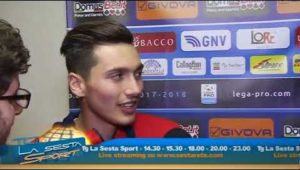 """Di Grazia: """"Felicissimo per il gol e per la vittoria"""""""