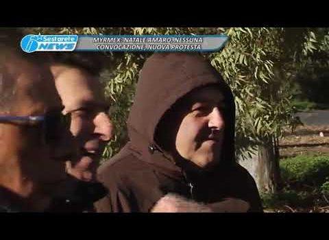 MYRMEX, NATALE AMARO, NESSUNA CONVOCAZIONE, NUOVA PROTESTA