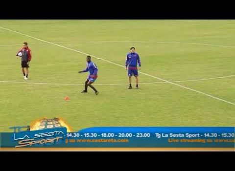 Calcio Catania: in campo a Fondi