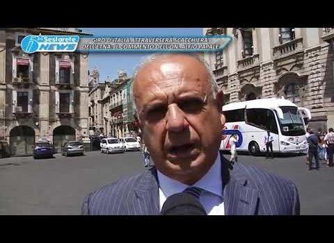 GIRO D'ITALIA ATTRAVERSERÀ SCACCHIERA DELL'ETNA, IL COMMENTO DELL'ON. ALFIO PAPALE