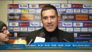"""Catania Vs Matera 1-1, Lucarelli: """"Condannati da errori arbitrali"""""""