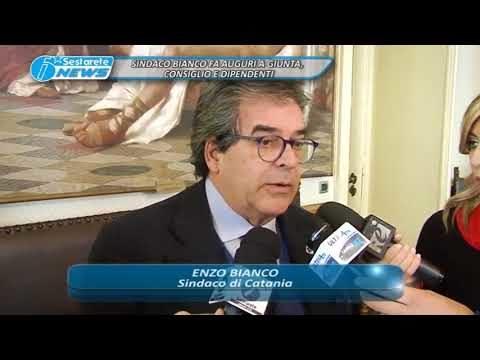 SINDACO BIANCO FA AUGURI A GIUNTA, CONSIGLIO E DIPENDENTI